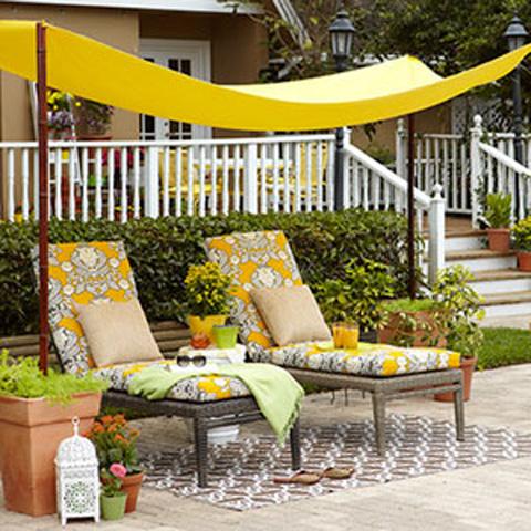 DIY Simple Backyard Shade All You
