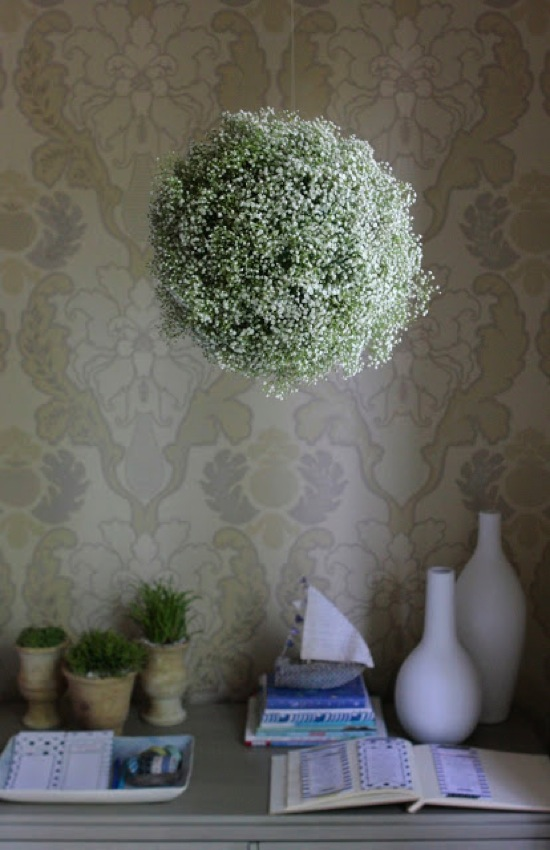 Baby s Breath Chandelier Me Oh My Mama