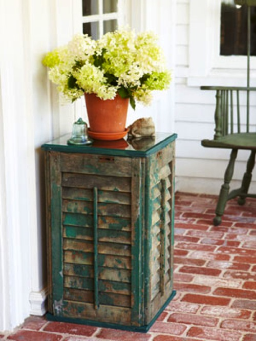 Shutter Side Table Good Housekeeping