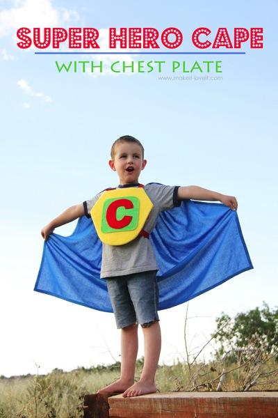 Superhero Cape Make It and Love It