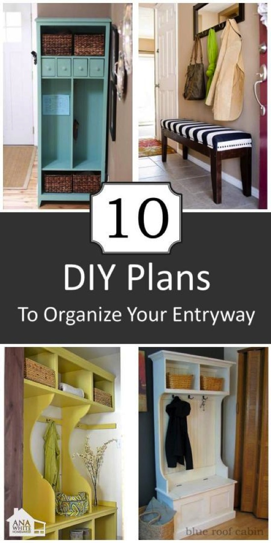 10 DIY Entryways You Can Build Ana White