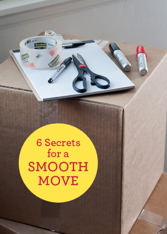 6 Secrets For A Smooth Move Design Mom