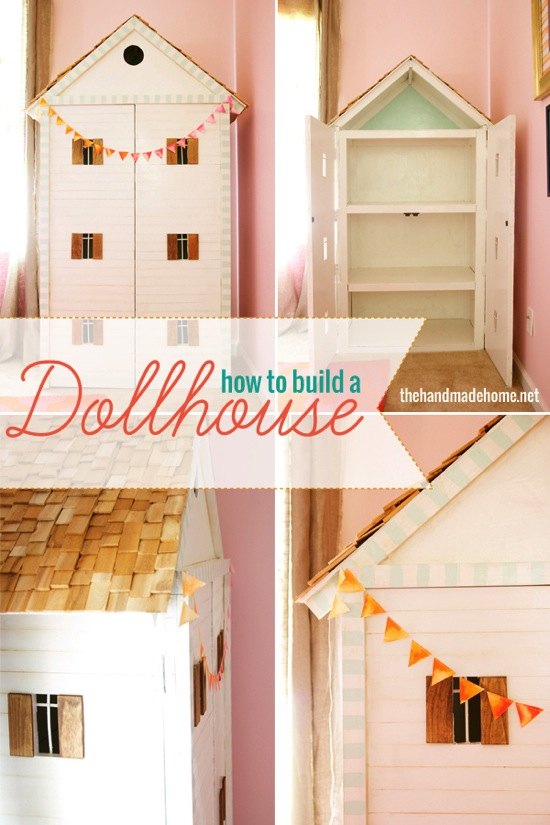 How To Build A Dollhouse The Handmade Home