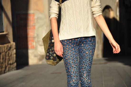 DIY Printed Jeans Emerja Design