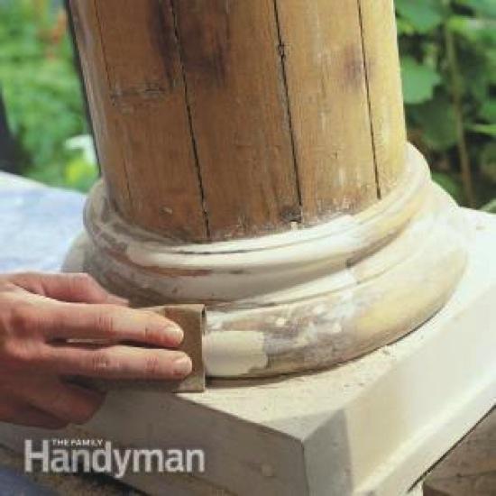 Epoxy Wood Repairs Family Handyman
