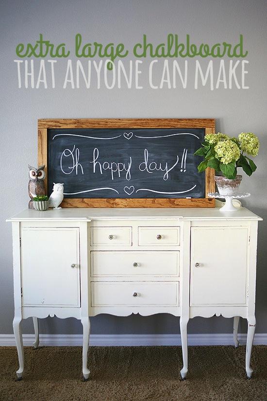 Large Chalkboard Eighteen 25