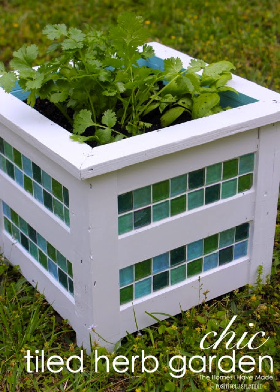 Tiled Herb Planter The Homes I Have Made