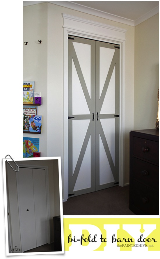 Bi Fold Barn Doors The Painted Hive