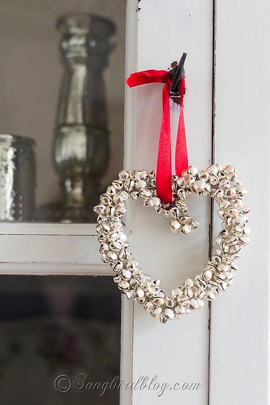Homemade Jingle Bells Heart Songbird Blog