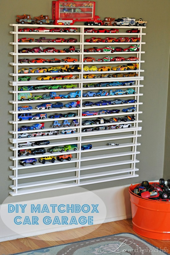 DIY Matchbox Car Garage A Lo and Behold Life