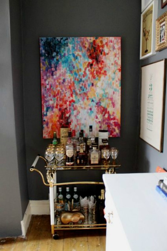 DIY Abstract Impressionist Painting swoonworthy