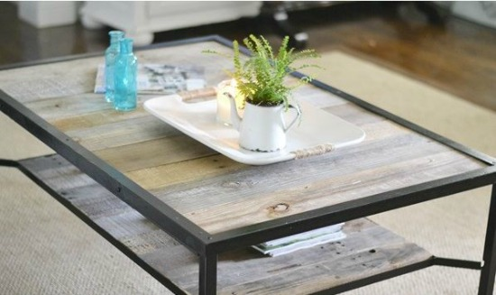 Industrial Style Coffee Table beneath my heart