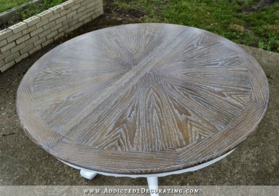 Cerused Oak Dining Table addicted 2 decorating