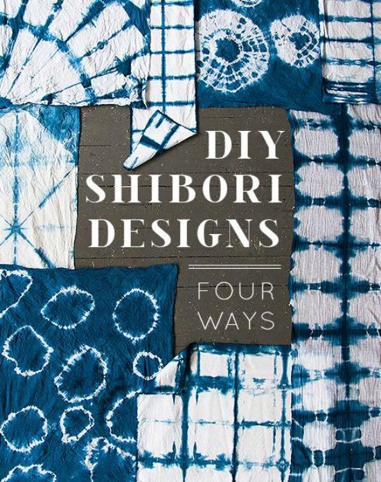 DIY Shibori Design design sponge