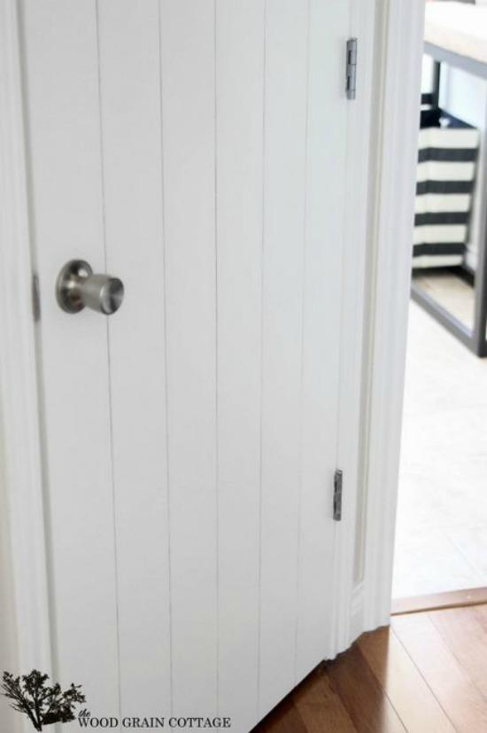 Wood Planked Door infarrantly creative