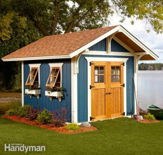 DIY Dream Shed the family handyman